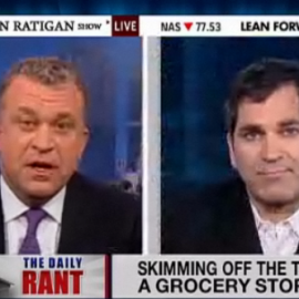 """Mark Ames Rants About The Inflation Scam On """"The Dylan Ratigan Show"""""""