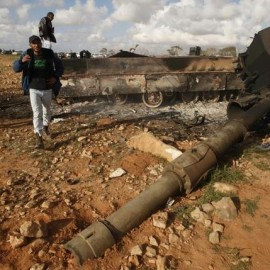 WN Blog Day 3: Blown Turrets, Human Shields...Thank You, Libya!