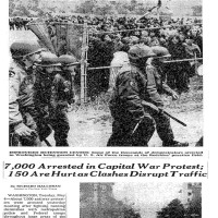 Recovered History: 7,000 May Day Protesters Herded Into D.C. Stadium Prison In 1971