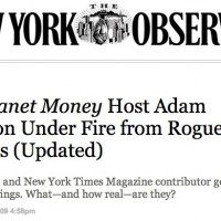 New York Observer Picks Up S.H.A.M.E. Project Exposé On NPR Host Adam Davidson's Conflicted Ties To Wall Street Sponsors